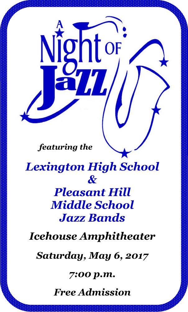 jazz band flyer 2017