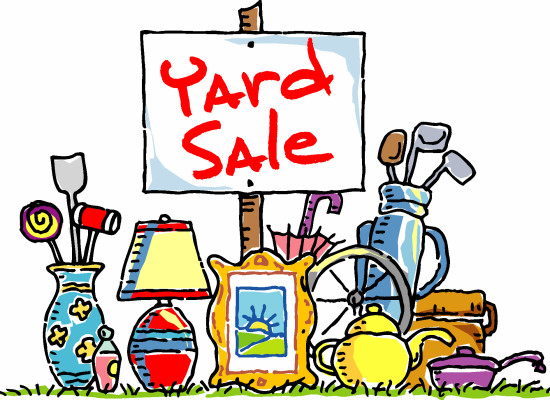 Band Booster Yard Sale – Sat. Nov. 14th 7am-12pm